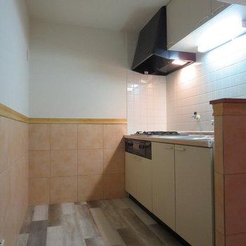 【LDK】キッチンスペースもゆとりがあります