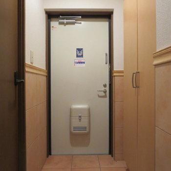 玄関スペースもゆとりがあります