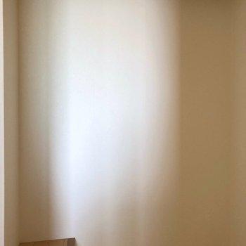【洋室5.5帖】丈の長い物でもへっちゃら!※写真は通電前のものです