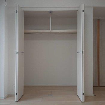 容量もしっかりあります※写真は4階の同間取り別部屋のものです