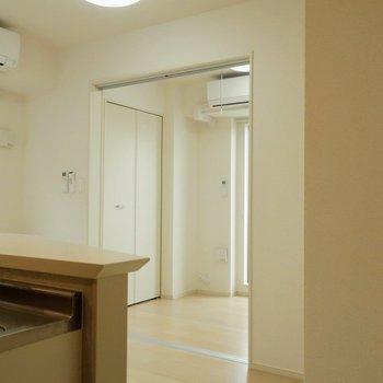 それではもうひとつのお部屋へ※写真は4階の同間取り別部屋のものです