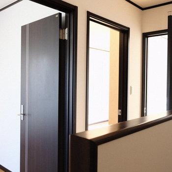 3階はお部屋3つ。おまけにトイレ付き◎