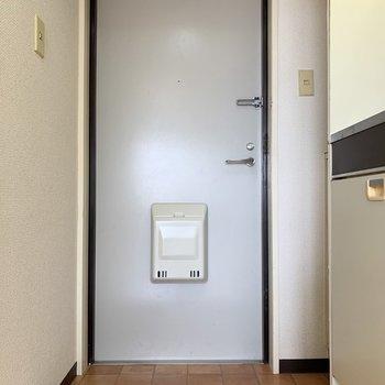 玄関は結構余裕が。