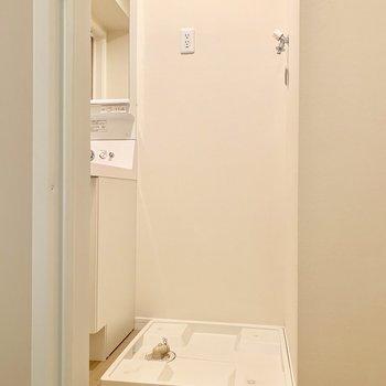 【サニタリー】その隣に洗濯機置き場