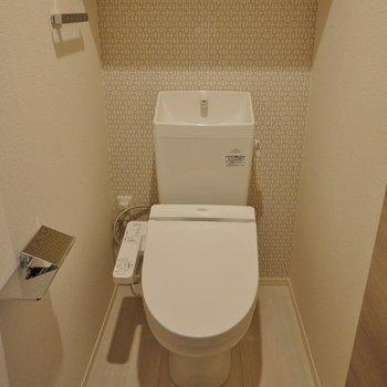 トイレはシンプルに◎※写真は同タイプの別室