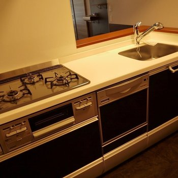 十分すぎる機能!食洗器で家事をかしこく時短◎※写真は同タイプの別室