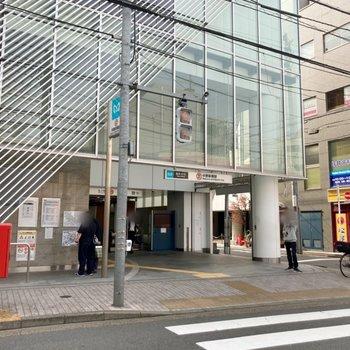 中野新橋駅から徒歩約4分とちょうどいい距離感◎