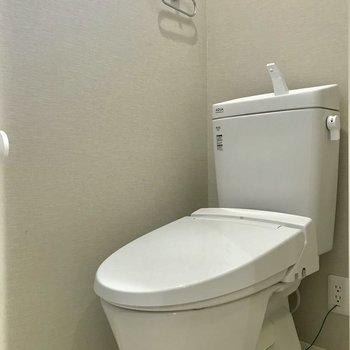 トイレは、圧迫感がありませんでした