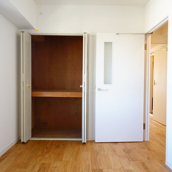 収納も大容量!※写真は反転で似た間取りの204号室です