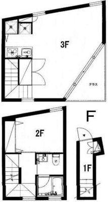 合理的デザイナーズ16項目の間取り図