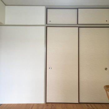 各部屋に収納付き※家具は見本です