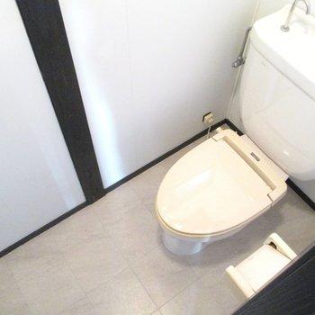 トイレは洋式ですよ◎