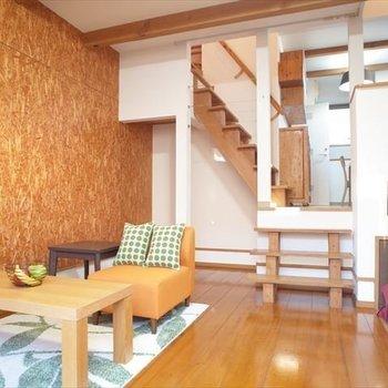 デザイナーズの力を発揮するとき・・※写真は1階の同間取り別部屋、清掃前のものです