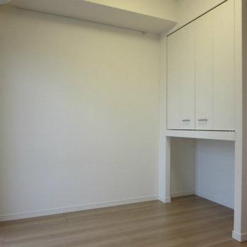 収納と空きスペース※写真は14階の同間取りの別部屋です。