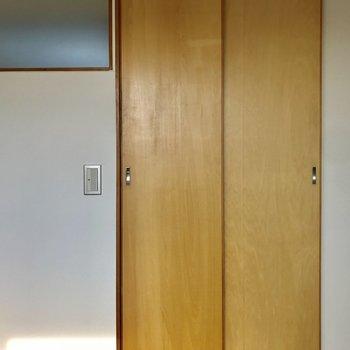 【Room】反対側はこんな感じ。※写真は通電前のものです