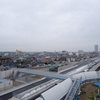 江戸川が近くに流れていますよ