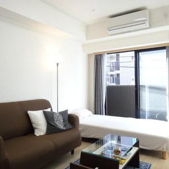こんな感じで持たない暮らしをしたいものです※写真は5階の同間取り別部屋のものです