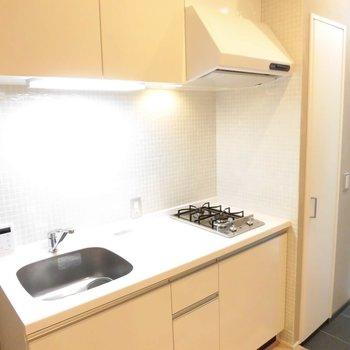 キッチンは調理場ありでGood。※写真は前回募集時のものです
