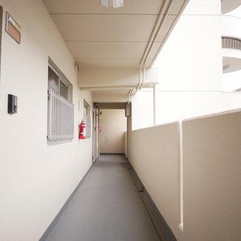 共用廊下※写真は前回募集時のものです