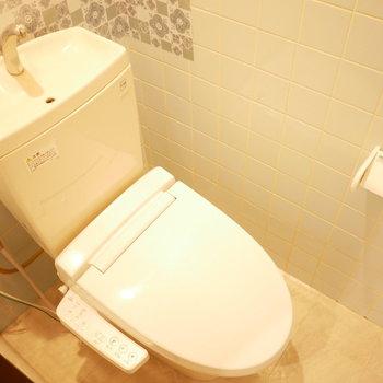 トイレはウォシュレット付!※写真は前回募集時のものです