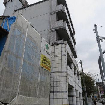 5階建ての低層マンション