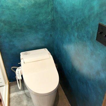 トイレでした!爽やかな空間ですね。