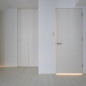 【納戸】白を基調としたシンプルなデザインです※写真は前回募集時のものです。