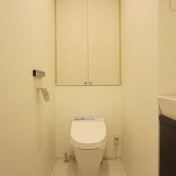 トイレはこじんまりと※写真は前回募集時のものです。