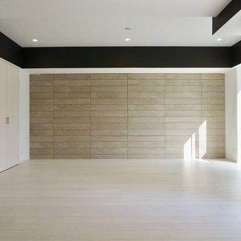 【LDK】壁のデザインもステキです※写真は前回募集時のものです。