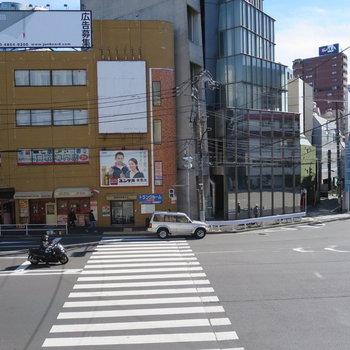 大通りに面しています※写真は前回募集時のものです。