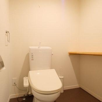 ウォシュレットつきトイレ。※現状優先になります