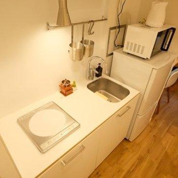 調理スペースがしっかりあるキッチン