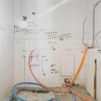 【工事中】浴室も一新!