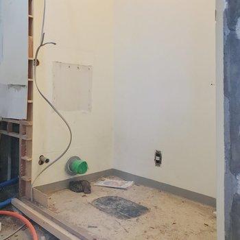 【工事中】こちらはトイレ