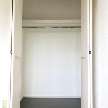 奥行きがたっぷりめ。※写真は8階の同間取り別部屋のものです