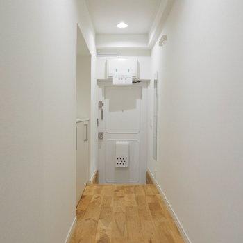 廊下部分もじぶんなりに彩りたい!