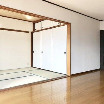 リビング横が和室。
