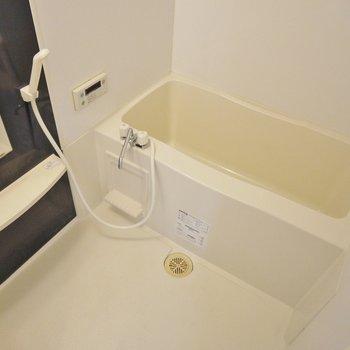 お風呂はわりと広い!※写真は同間取り別部屋のものです