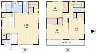 渋谷区恵比寿3丁目戸建 の間取り