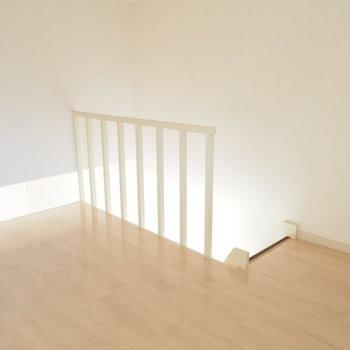ロフトにあがってみました※写真は反転間取り別部屋です