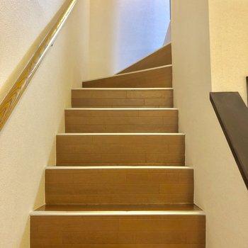 さて、2階に行ってみましょう!