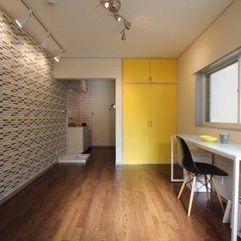 私のお洒落な空間!※写真は2階反転間取りのモデルルームのものです