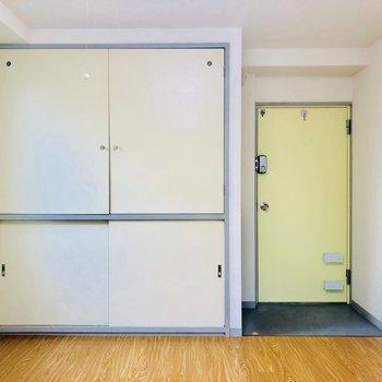玄関スペースは小さいですがお部屋自体は7帖ありますよ!