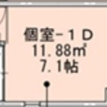 1階の角部屋のお部屋です
