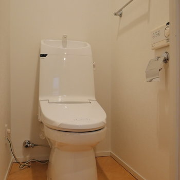 【LDK】トイレは個室。
