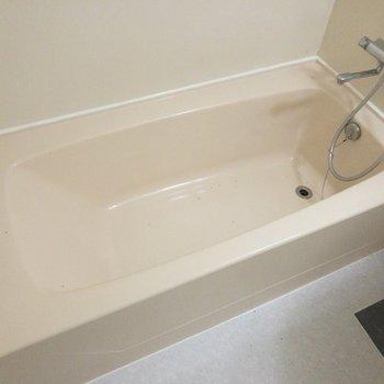 浴槽は充分な広さです。
