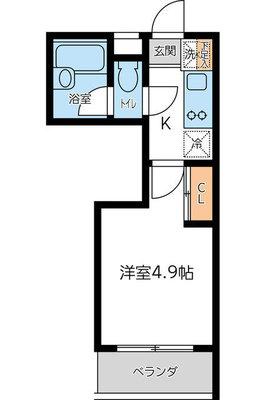 CITY SPIRE東小金井(旧KWプレ の間取り