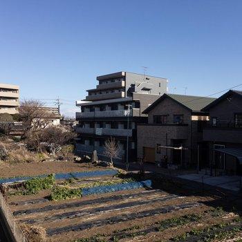 眺望はのどかな津田沼の空と畑!