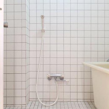 外国チックな浴室