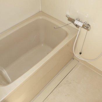 浴室は普通のサイズ感ですね